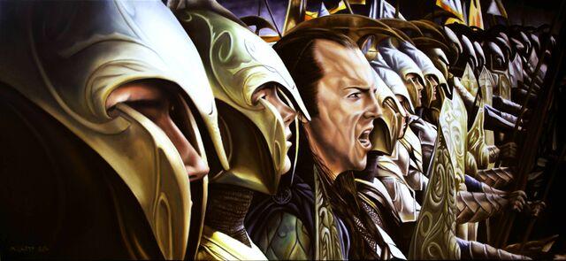 File:The lord of rings elves artwork elrond desktop 7677x3543 wallpaper-377297.jpg