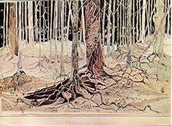 J.R.R. Tolkien - Fangorn Forest