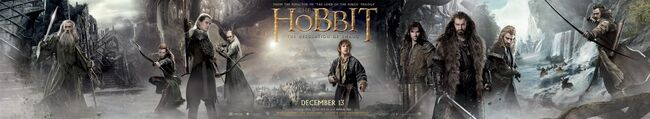The Hobbit- The Desolation of Smaug banner