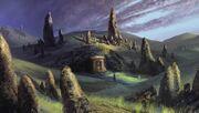 Barrow-downs, Cardolan's capital