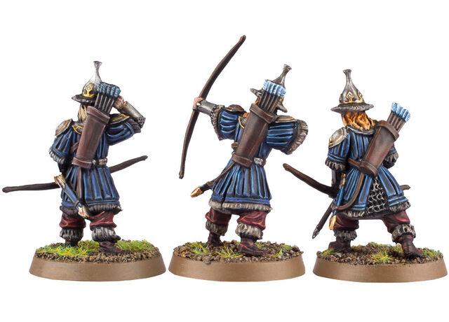 File:Hobbit Miniature Game - Lake-town Guard (Bowmen) 2.jpg
