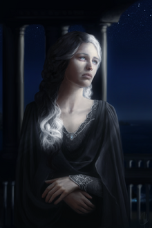 Nienna The Mourning Vala by moon blossom