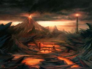 Mordor gorgoroth by rodmendez-d2ytqt2