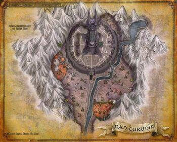 Map - Nan Curunir