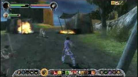 PC Lord Of The Ring Online Gameplay Demo