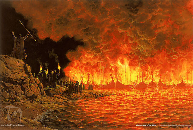 File:Ted Nasmith - Burning of the Ships.jpg