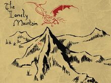 The lonely mountain by 15ath-d70jjes