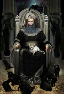 Ten Cats of Queen Beruthiel by Steamey
