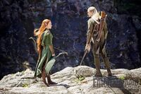 EW - Tauriel and Legolas still