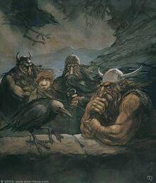 John Howe - Roac, Son of Carc