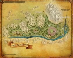 Map - Gap of Rohan