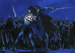 Maedhros and Maglor prepared to defend themselves and die.