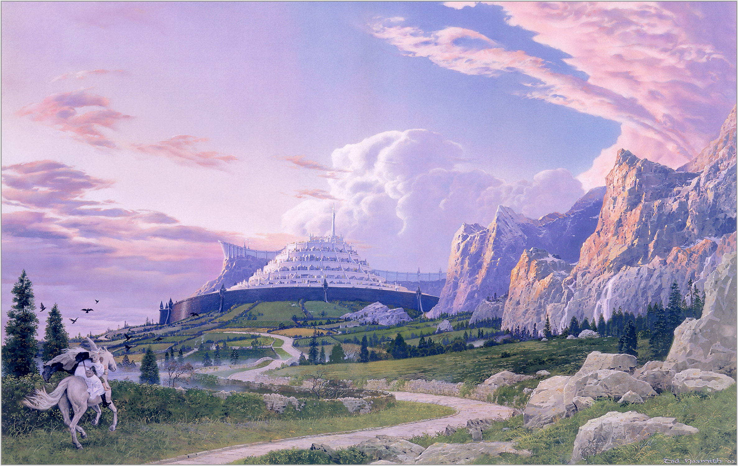 Image result for minas tirith