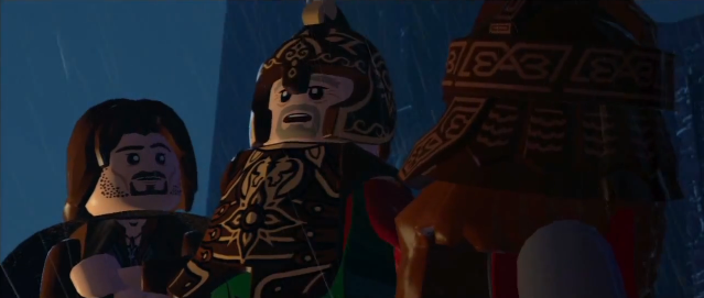 File:Lego lotr Theoden, Gimli, and Aragorn discuss the battle.PNG