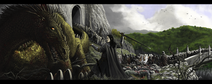 The Fall Of Nargothrond by WF74