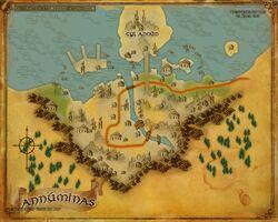 Map - Annuminas