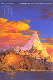 Ted Nasmith -The First Dawn of the Sun