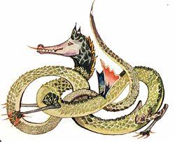 Tolkien - Dragon