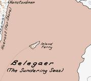 Belegaer map