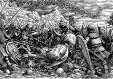 Battle of five armies men of esgaroth by tulikoura-d52jk7z