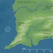 Drúwaith Iaur map