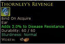 Thornleys revenge