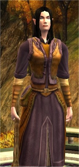 Elf female loremaster