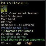 PicksHammer