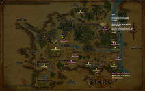 Shire Deedrun Map