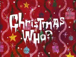 Christmas Who