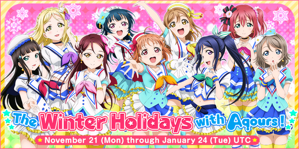 The Winter Holidays with Aqours!