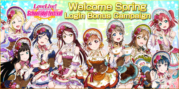 Welcome Spring Login Bonus Campaign