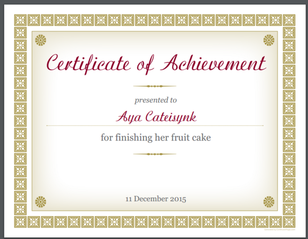 File:Certificate for finishing fruit cake.png