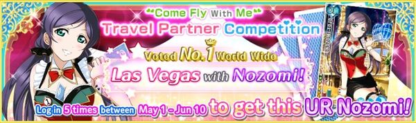 Las Vegas with Nozomi