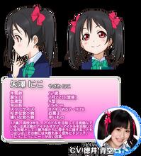 Yazawa Nico Character Profile