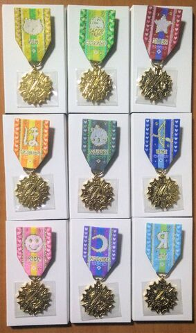 File:Love Live! 6th Anniversary Giveaway Prize Medals.jpg