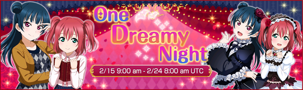 One Dreamy Night Event
