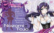 Nozomi IC Sticker Mogyutto Profile