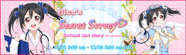 Nico's Secret Survey♡ Event