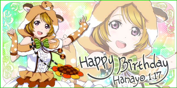 Happy Birthday, Hanayo! 2016
