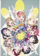 Aqours First Live Pamphlet - 02