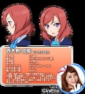 Nishikino Maki Character Profile