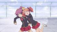 Miharu grab Minami