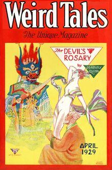 Weird tales april 1929