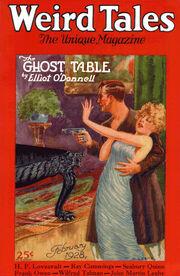 Weird Tales February 1928