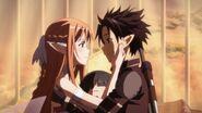Asuna & Kirito S1E24 (1)
