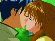Maron & Chiaki First Kiss