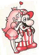 MarioPeachGolf
