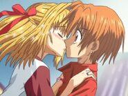 Lucia & Kaito Kiss S2E21