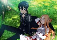 Asuna & Kirito Promotional Pic (13)